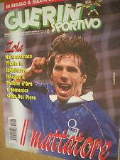 Guerin Sportivo.Gianfranco Zola,Gigi Buffon,Caio,Patrick Viera,Veldin Karic,jjj