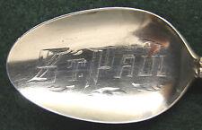 Sterling Souvenir Spoon St. Paul, MN, 1900