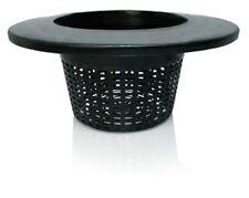 "4 Pack HydroFarm 6"" Wide Lip Mesh Bucket Lid Basket SAVE $$ WITH BAY HYDRO $$"