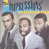 The Impressions ~ Greatest Hits CD ~ CRC ~ MCAD-31338 ~ Rare Soul/Funk ~ SEALED!