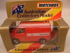 1981 MATCHBOX SUPERFAST AUSTRALIAN COLLECTORS MODEL MB60 FORD TRANSIT POST MIB