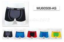 5pc Size 7 6-8 years Comfort Cotton Boys Boxer Briefs Plain Kids Underwear