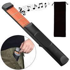 Mini chitarra tascabile 6 Corde 4 Tasti pratica allenamento musica imparare