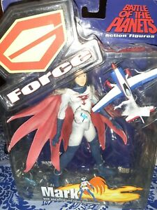 """G Force Battle of the Planets action figures """"Mark"""""""