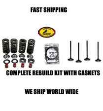 NEW COMPLETE INTAKE EXHAUST SPRING VALVE REBUILD KIT GASKET 06-08 KX450F KX 450F