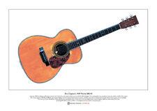 Eric Clapton's 1939 Martin 000-42 Limited Edition Fine Art Print A3 size