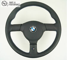 LE TEF® LEDER Nappa LENKRAD M-Nähte Sportlenkrad für BMW M Performance 3er E30