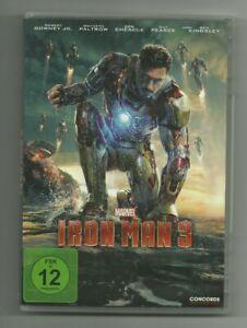 Marvel Iron Man 3 (DVD) Robert DowneyJr.,Gwyneth Paltrow,Ben Kingsley,Guy Pearce