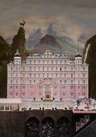 THE GRAND BUDAPEST HOTEL Movie PHOTO Print POSTER Textless Film Art Anderson 002