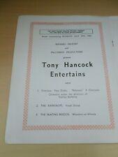 More details for tony hancock entertains leeds grand theatre variety programme 1963 ronnie hilton