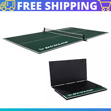 12mm 4 Piece Indoor Tennis Table Conversion Top,No Assembly Required, Green