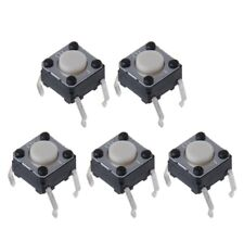 5Pcs Mouse Micro Switch for Logitech M185 M215 G300 G402 G602 M570 6x6x4.3mm Hot
