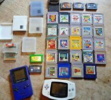 Nintendo Game Boy + Game Boy Color +  Spiele + ZELDA POKEMON  Konvolut Paket