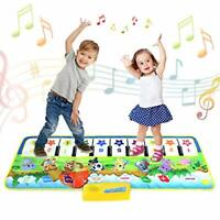 Kids Piano Mat,Toddlers Kids Toys Age 1 2 3 4 5 Year Old Girls Boys Music Dance