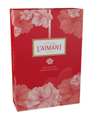 Coty L'aimant Womens 30ml Parfum De Toilette Scent & 75ml Body Spray Gift Set