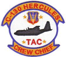 C-130 HERCULES CREW CHIEF PATCH, TAC