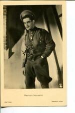 RAMON NOVARRO Hollywood Hunk in WW1 USAAF Flying Gear ROSS VERLAG 1930s POSTCARD