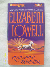 Remember Summer by Elizabeth Lowell  (1999, 2 Audio Cassettes, Abridged)