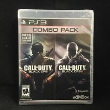 Call of duty Black Ops I + II Combo Pack(PS 3) Brand New !!