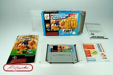 Super Nintendo *International Superstar Soccer Deluxe* SNES OVP mit Anl, Sch.CiB