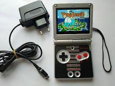 NINTENDO GAMEBOY ADVANCE SP NES CLASSIC EDITION MOD LCD IPS V2 BACKLIGHT