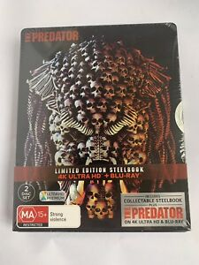 The Predator 4K Ultra HD+Blu-Ray 2 Disc Set Limited Edition Steelbook Sold Out!