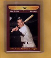 Phil Rizzuto, '42 New York Yankees rookie shortstop – original Miller Press 🔥
