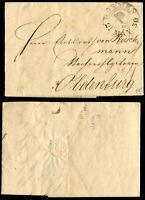 BREMEN Vor-Phila Brief 1830 nach Oldenburg  #32271