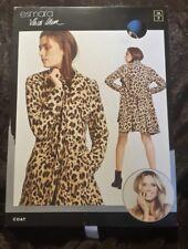 Esmara by Heidi Klum Estampado de Leopardo Gabardina Reino Unido 10 totalmente nuevo agotado @ lidl