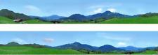 I D Backscenes 235N Photo Backscene 9 Inches High, Bavaria N Gauge