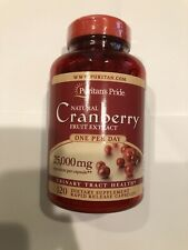 Puritan's Pride One A Day Cranberry - 120 Capsules Exp 05/22