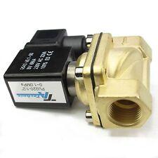 "TA-Technix 2/2 Wege Magnetventil - 1/4 "" Zoll 12V 24V 230V /  1/2 "" Zoll  230V"