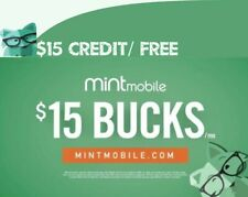 Mint Mobile new customer referral link $15 credit when you sign-up by this link