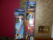 Lot of 2 New unopened ESTES ROCKETS MODEL KITS CHROME DOME & METEOR MASTER