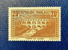 France 1929 *** Le Pont du Gard *** N° 262 IIA Neuf ** Luxe  Signé