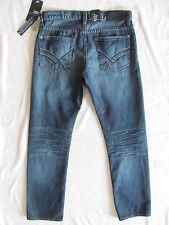 William Rast Logan Straight Jeans -Hawkeye Wash -Embroidery Size 32 or 33 -NWT