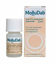 MolluDab 5% Hydroxide Topical Applicator Treatment 2ml Molluscum contagiosum