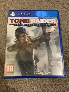 Tomb Raider: Definitive Edition (Sony PlayStation 4, 2019) - LLD