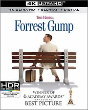 FORREST GUMP   (4K ULTRA HD ) - Blu Ray -Region free
