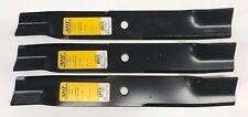 "Qty-3 17-7/8"" XHT B1HS1007 Medium Lift Blades 52"" cut Hustler 787721 350-691"