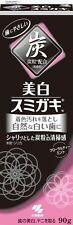 New KOBAYASHI SUMIGAKI Charcoal Whitening Charclean Toothpaste Bihaku 90g Japan