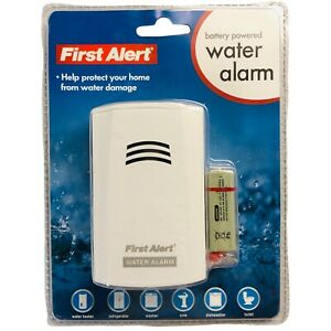 First Alert Water Alarm Battery Powered Model WA100 Brand New Sealed