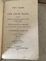Two Years in New South Wales P Cunningham Vol 2 1827 2nd ed