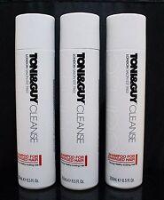 3x TONI & GUY Shampoo For Damaged Hair 8.5 oz / 250 ml STRONG HEALTHY HAIR