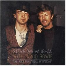 Stevie Ray Vaughan & David Bowie | 1983 Broadcast | 2xCLEAR Vinyl | LTD ED | NEW