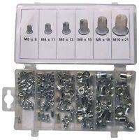 Nietmuttern Aluminium für Hebel-Nietmutternzange M3-M12 Nietzange 150 Stück
