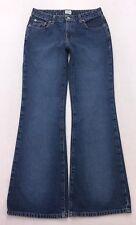 "O92 Vtg CK Calvin Klein 21"" FLARE Mid Rise Mom Jeans Tag sz 3 (Measures 26x30"")"