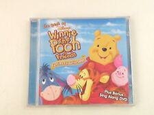 THE BEST OF DISNEY WINNIE THE POOH & FRIENDS - CD + DVD WALT DISNEY 2006 -NM/NM