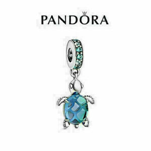 """New Genuine Silver Pandora Ocean Charm ALE """"Turtle"""" S925 & With Gift Bag AU"""