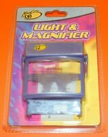 Light & Magnifier per Console Nintendo Game Boy Advance GBA VideoGame Giochi